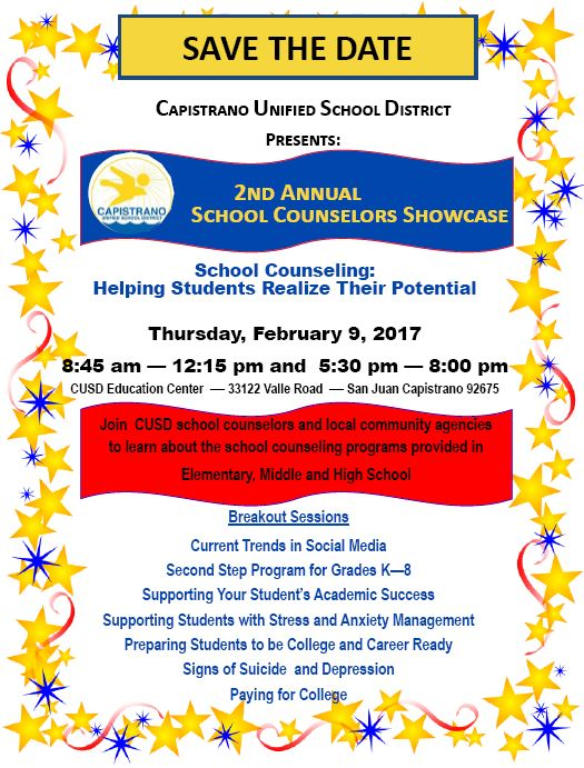 2nd Annual Counselors Showcase