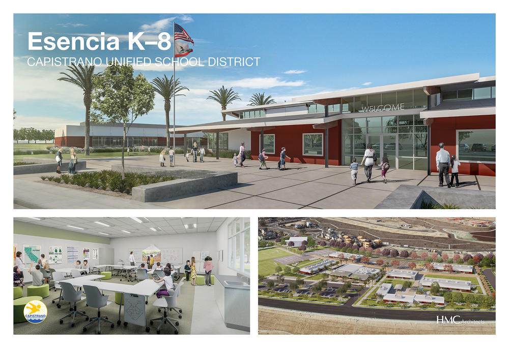 Rendering of New Esencia K-8 Project